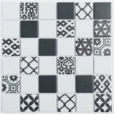 Мозаика NSmosaic Rustic R-322 керамика матовая 30,6х30,6
