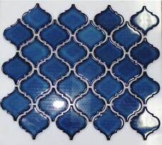 Мозаика NSmosaic Rustic R-303 керамика глянцевая (6х6,5) 29,3х24,5