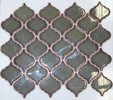 Мозаика NSmosaic Rustic R-305 керамика глянцевая (6х6,5) 29,3х24,5