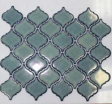 Мозаика NSmosaic Rustic R-306 керамика глянцевая (6х6,5) 29,3х24,5