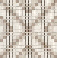 Мозаика M09V Marazzi Stone_Art Mosaico Ivory/Taupe 40x40