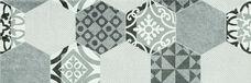 Декор Ceramika Konskie Portis Hexagons 25х75