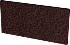 18601Подступенок Парадиж Натурал Браун структур. 14,8х30
