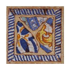 Вставка декоративная Gresan Natural Gr6. Taco La Balma Azul 12х12