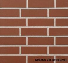 7960 Плитка фасадная облицовочная Stroeher Keravette Chromatic 215 patrizierrot (текстурная)