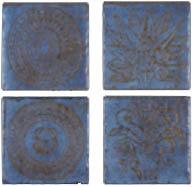 декор BR 1-4 O.BLUE 20x20 (Cerdomus Ceramiche)