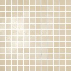 GOLDENEYE AVORIO MOSAICO 2.4*2.4 30*30 (Ceramiche Brennero)