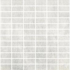 BRENNERO MOSAICO RETT. WHITE NAT 30X30 мозаика
