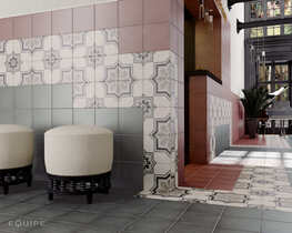 Плитка Art Nouveau