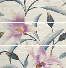 ВставкаAPE Armonia Decor Set(3) Adriana Turquesa/Purpura20x60