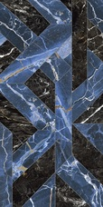 118716 NAXOS OUTLINE BLUE LEVIGATO RETTIFICATO 60x120