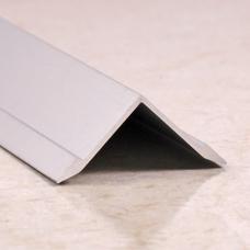 Алюминиевый внутренний угловой порог гладкий