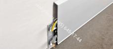 Плинтус с кабель каналом из анодированного алюминия PROSKIRTING ISP Progress Profiles